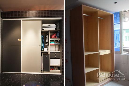 选择定制衣柜比普通的木工现场制作性价比要高