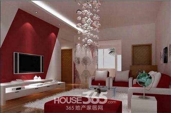 电视背景墙装修效果图 家庭美丽风景线