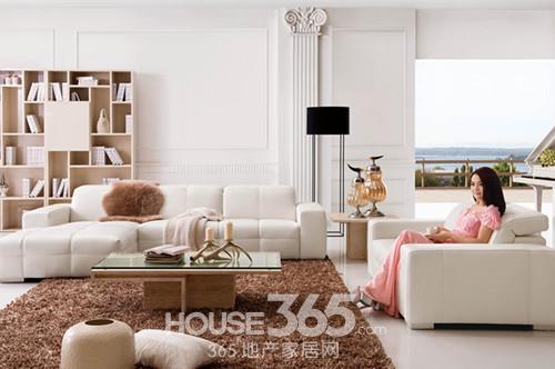 客厅欧式花沙发配色效果图