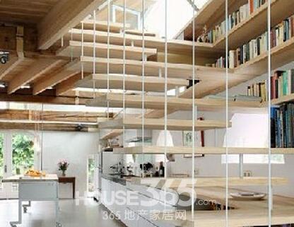 阁楼楼梯设计图片 让生活多姿多彩