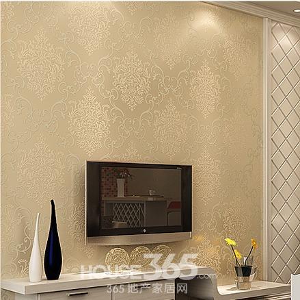 欧式家装壁纸:为了减少大面积花纹带来的繁琐感