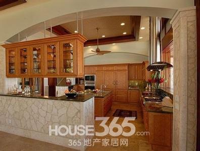 厨房装修隔断 家装隔断效果图 合理布局巧妙设计
