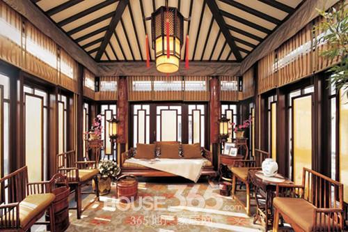 别墅中式装修效果图 颠覆你的品位