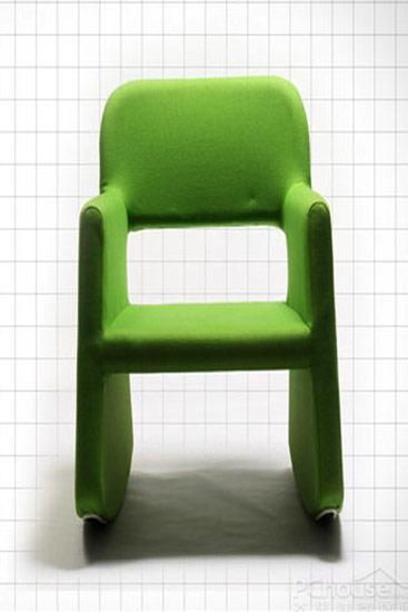 绿色色欧式椅子