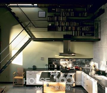 閣樓樓梯設計圖片 創意無限