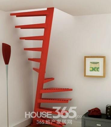 五楼带阁楼楼梯设计图展示图片