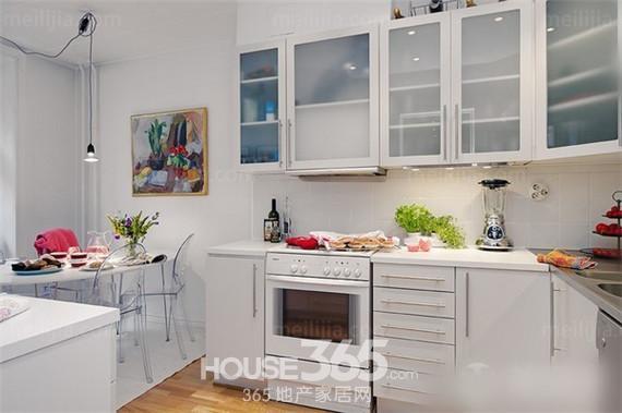 小厨房装修效果图片 神奇的空间扩大术