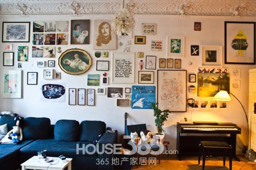 80后最爱 简易客厅装修效果图欣赏
