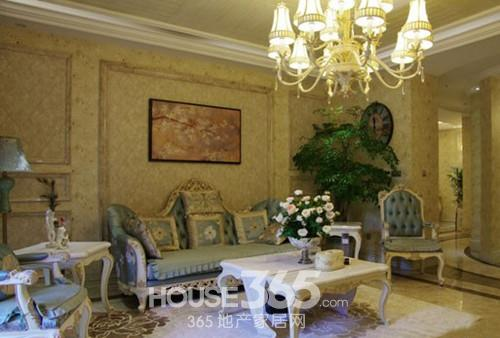 法式别墅装修效果图 让你浪漫香榭丽 高清图片