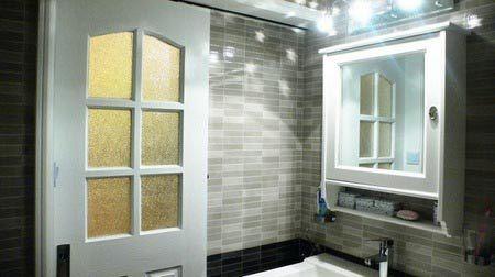 小户型装修效果图:洗手间