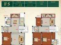 金色阳光花园F5叠排 17#、18#楼一、二层边套