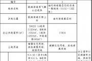 青田县即将有两块地块挂牌出让