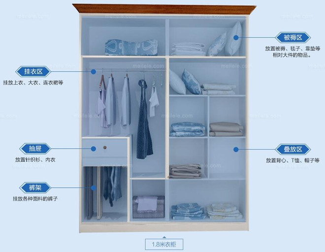 2m衣柜内部设计图