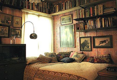 单身女孩卧室的颜色搭配