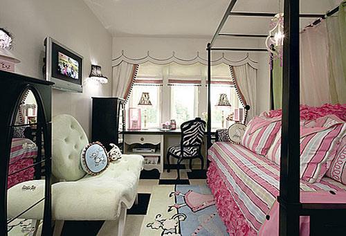 这款小户型的女生卧室