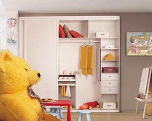 图为儿童衣柜装修效果图-儿童衣柜选购五大注意事项