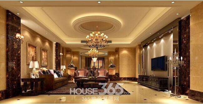 欧式别墅装修效果图 高大上的视觉享受