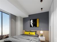 龙都壹品B户型-现代卧室